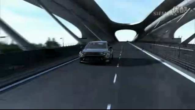西门子未来电动汽车畅想