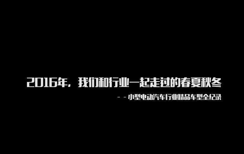 """2016小型车行业""""二十款精品车型实景全纪录"""""""