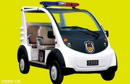 跃迪电动警用巡逻车J5