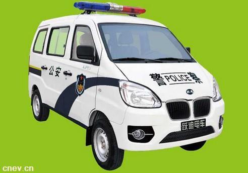 跃迪电动警用巡逻车T80J