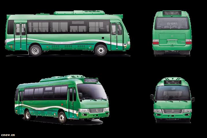 XML6809大考斯特D8系列混合动力公交