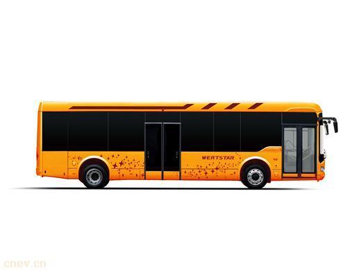 亚星JS6128GHEV混合动力城市客车