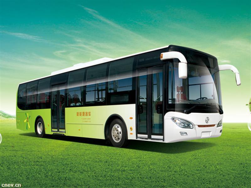 JS6127GHBEV新能源客车