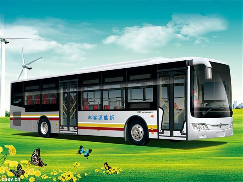亚星JS6126GHEV新能源客车
