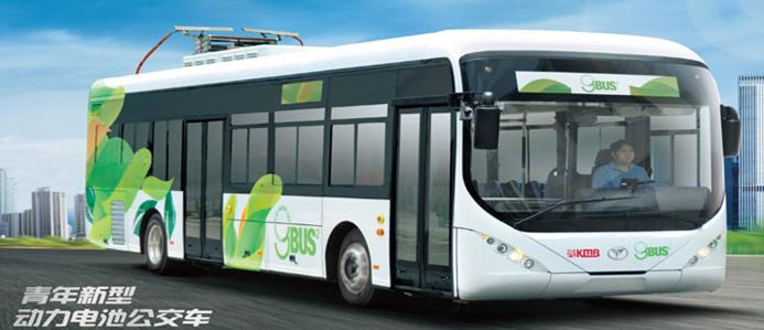 青年动力立博娱乐电池公交车