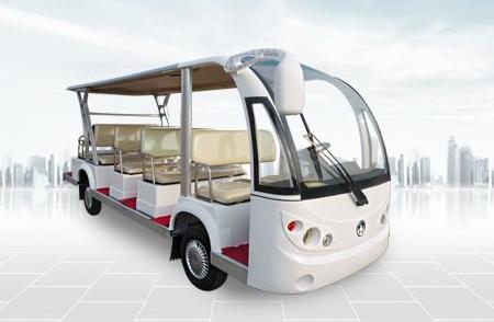 澳柯玛十四座电动观光车
