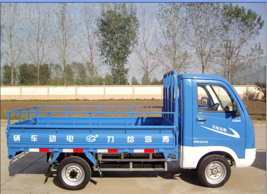 青岛给力蓝色电动货车