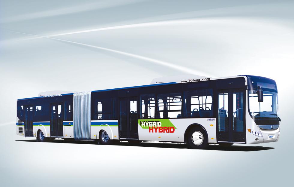 宇通大容量低排放都会巴士