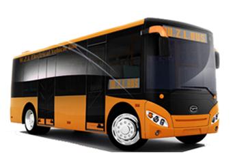 五洲龙纯电动小巴士