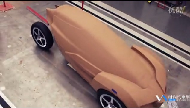 KISKA和欧宝汽车合作设计的电动汽车